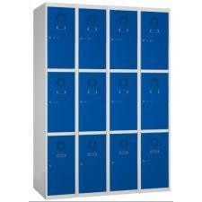 Taquilla metálica 12 puertas 4 columnas