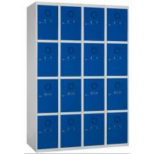Taquilla metálica 16 puertas 4 columnas
