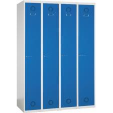 Taquilla metálica 4 puertas 4 columnas