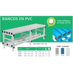 bancos de pvc