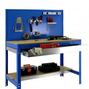 Bancos de trabajo MT2 cajón azul